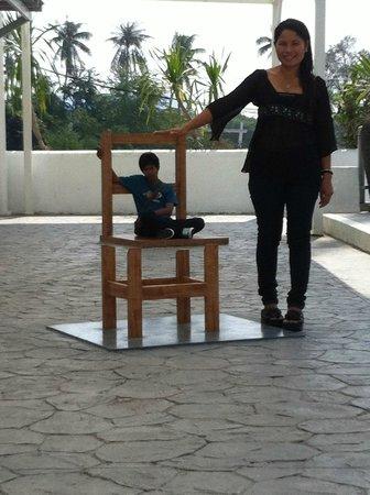 Santorini Park: Example of the 'Trick Art' museum