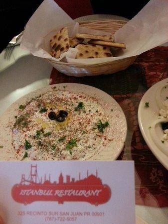 Istanbul Restaurant : the card