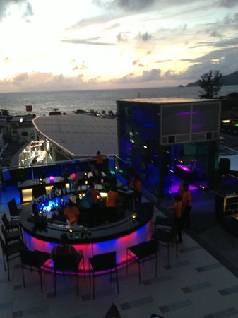 The KEE Resort & Spa: Skybar View