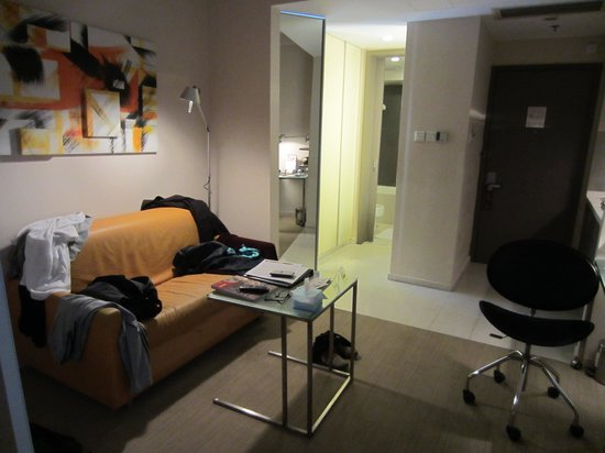 Citadines Central Xi'an: Not flash but comfortable and roomy