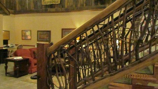 LaQuinta Inn & Suites Boone : Gorgeous lobby