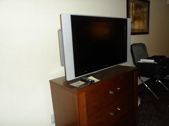 BEST WESTERN PLUS El Paso Airport Hotel & Conference Center: TV.