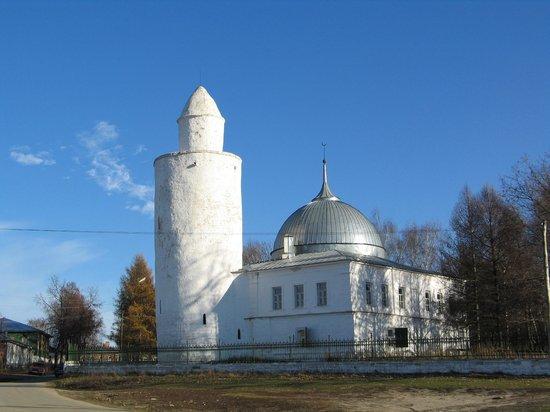 Kasimov, Russia: Касимов. Мечеть с минаретом.