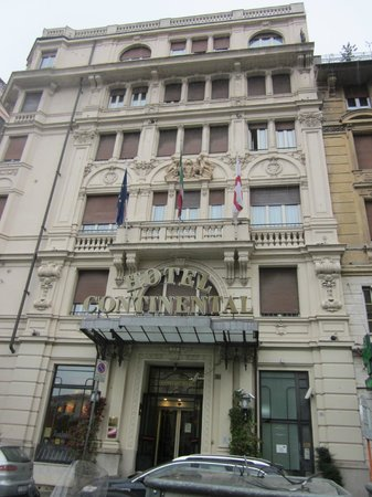 Hotel Continental Genova: Hotel Continental from the outside