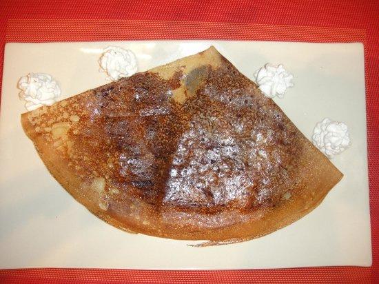 la crêperie de samui : Crêpe bretonne beurre sucre chantilly