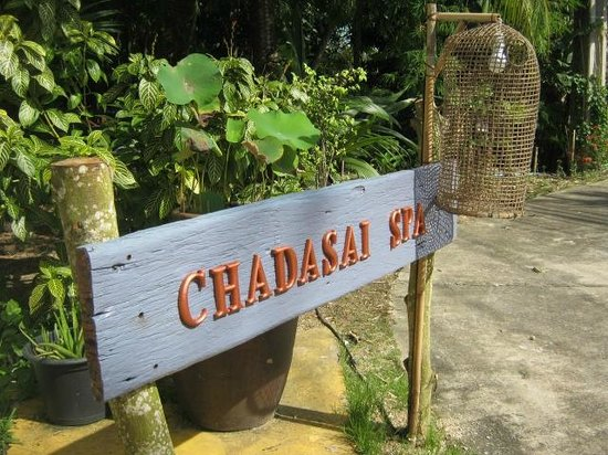 Chadasai spa : In front of spa