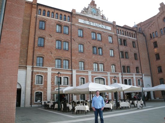 Hilton Molino Stucky Venice Hotel : quiet with a canal view