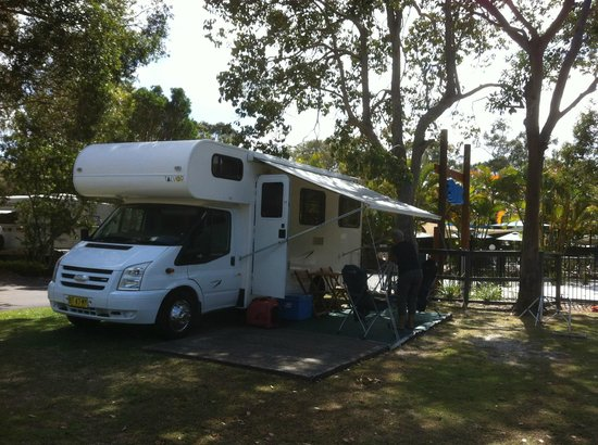 BIG4 Tweed Billabong Holiday Park : Camp site