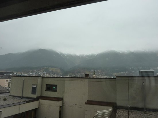 Hilton Innsbruck: View from our room