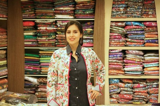 Jaipur, India: Hand Block Printed Quilted Jacket