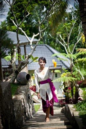 Pondok Sebatu Villa: Garden