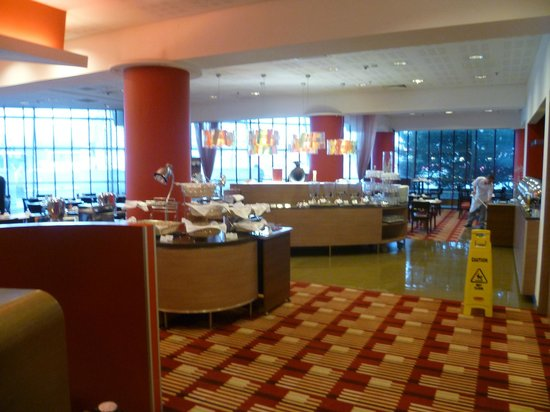 Novotel Warszawa Centrum: Frühstücksraum (Eingang)