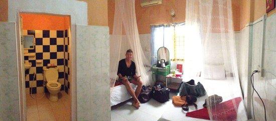 Bunlinda Hostel: Room on the ground floor!