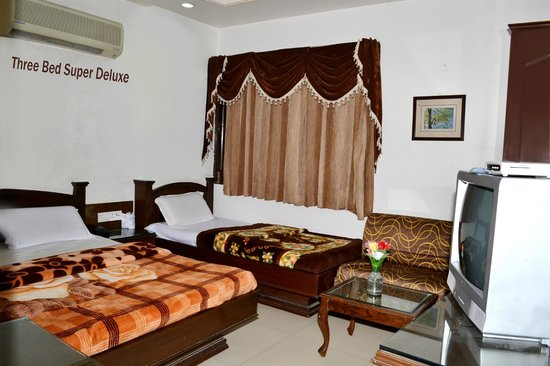 ‪‪Hotel Heritage Inn Amritsar‬: THREE BED SUPER DELUXE ROOM‬
