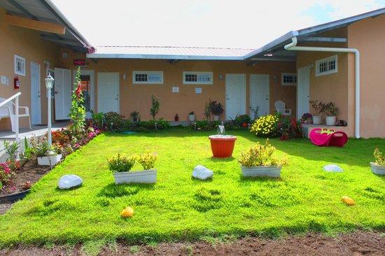 Hostal Victoria Volcan Chiriqui : Beautiful Garden