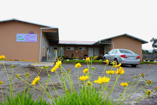 Hostal Victoria Volcan Chiriqui : Free parking, inside the hostel with surviliance system