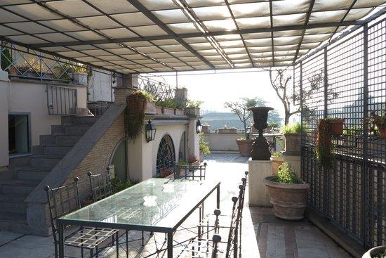 Made in Rome Bed&Breakfast : la terrazza