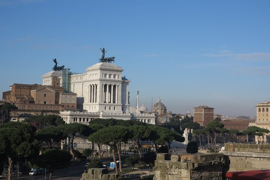 Made in Rome Bed&Breakfast : il panorama