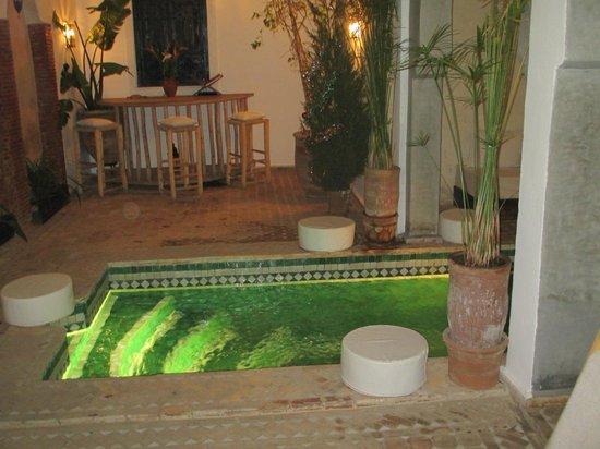 Riad Shambala: Giardino Interno