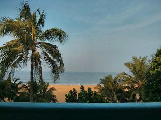Topaz Beach Hotel: View from our room