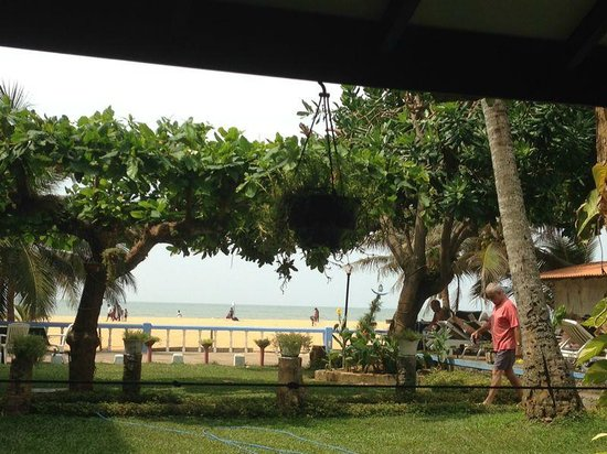 Topaz Beach Hotel: View from the dining area