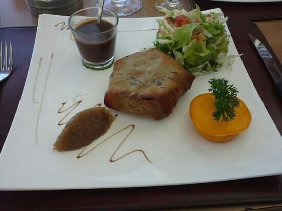 Marmite et Tire Bouchon : pastilla de confit de canard (miam)
