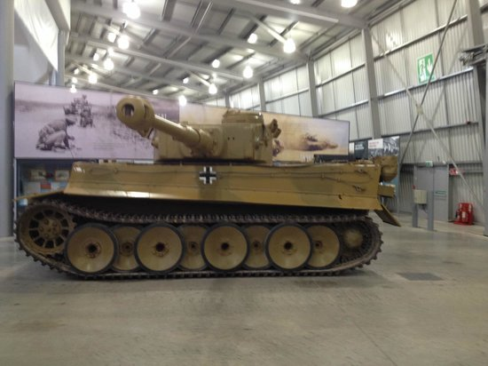 Bovington, UK: Tiger