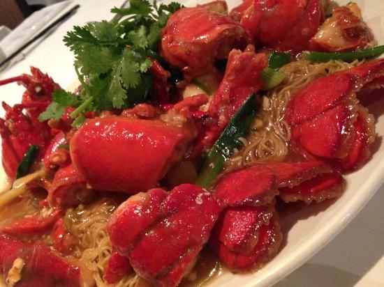 Mandarin Kitchen: Spring Onion & Ginger Lobster Noodles