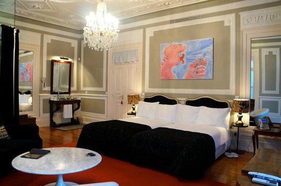 Palacete Chafariz D'El Rei : The Sonya room.