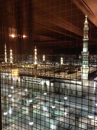 InterContinental Madinah-Dar Al Iman : View of the mosque from our room