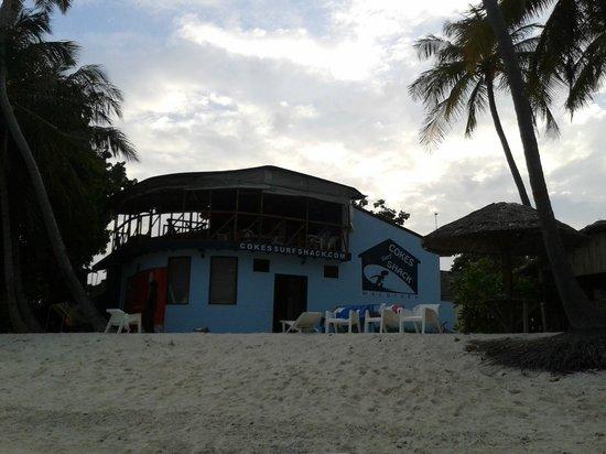 Cokes Beach Maldives : Hotel y alrededores