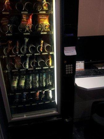 easyHotel London Victoria: Distributore di bevande e snack (prezzi nella norma)