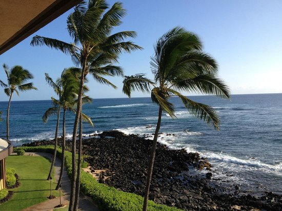 Sheraton Kauai Resort: View from our room.