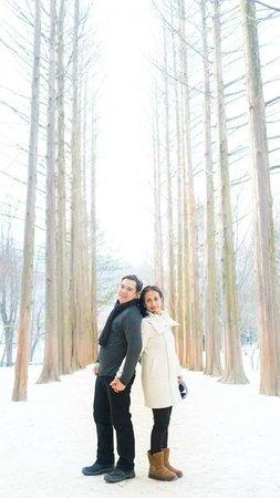 Nami Island : Winter Sonata @ Lover's Woods