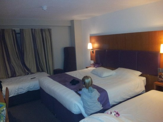 Premier Inn London Kings Cross Hotel : camera 4 persone