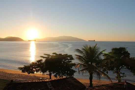 Club Med Rio Das Pedras: Vue de Gipoïa au lever du soleil. 7h