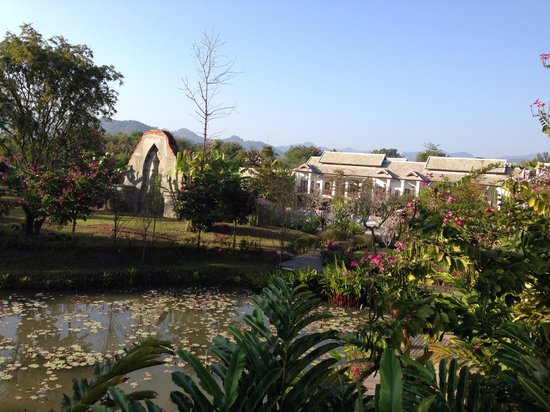 Le Palais Juliana: Vista desde pasillos