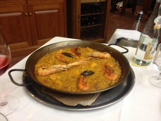 Casa Roberto : Paella ade marisco