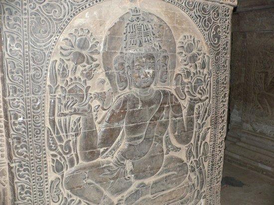 Nanpaya: The sandstone carving