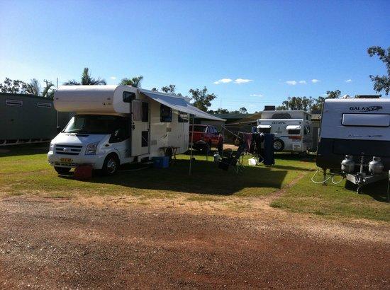 Sapphire Caravan Park: Camp site