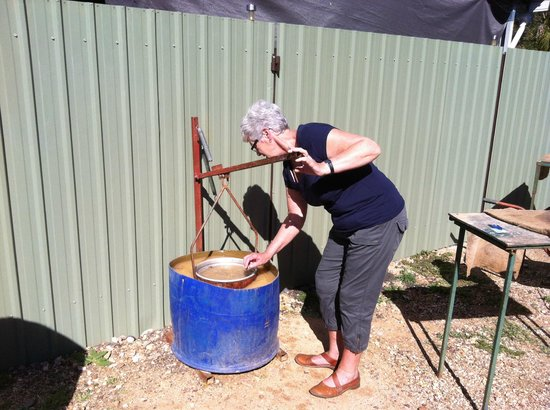 Sapphire Caravan Park: Saphhire panning
