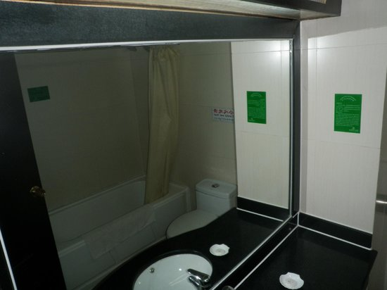 Li River Hotel (Decui Road): The bathroom