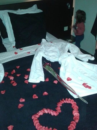 Hotel Harmony: romantische kamer!