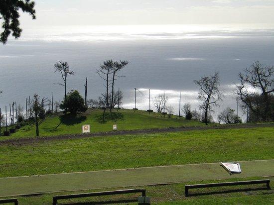 Palheiro Golf : Prachtig uitzicht aan het einde van de 18e hole.