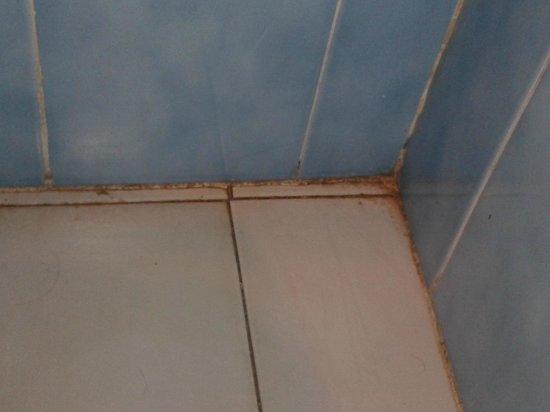 Hotel Simon: Angle salle de bains