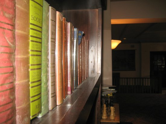 Hotel Blue: Plenty to read