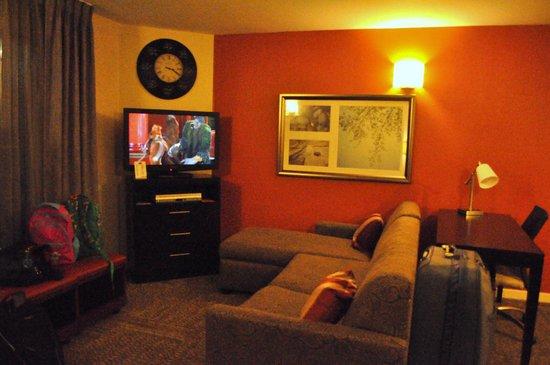Staybridge Suites Lake Buena Vista: Cosy living area.