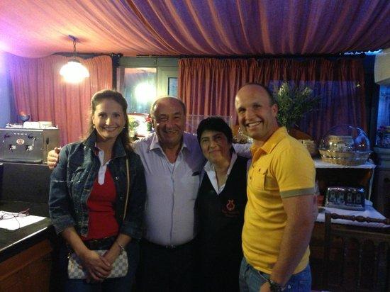 Casa Turchetti: Пино, Франческа и мы
