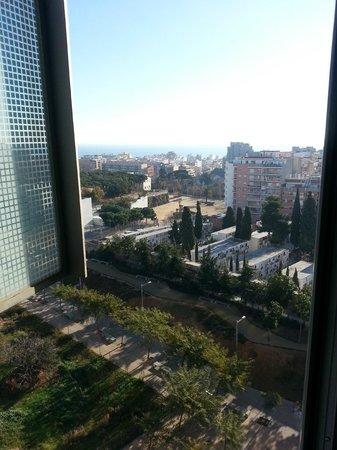 Rafaelhoteles Badalona: View to the east from 8th floor