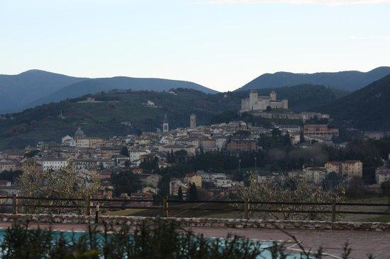 County House Il Sogno: Il panorama...